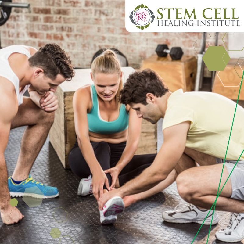 sports injuries - stem cell healing institute